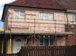 Application of External Wall Insulation to Social Housing  in Progress