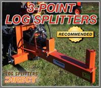 pto log splitter, pto log splitters, 3 point log splitter, 3 point log splitters, three point log splitter, three point log splitters