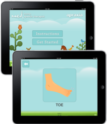 Speech Therapy App for Apraxia