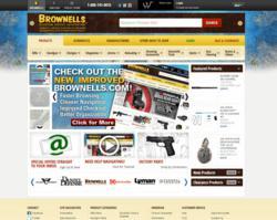New Brownells Website