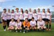 Santa Clara Sporting 95 Girls White Team raise awareness and funds to fight breast cancer in Goals for a Cure