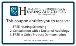Free Hearing Aid Consultation and Hearing Screening - Sun City FL