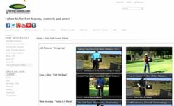 New Free Professional Golf Lesson Videos