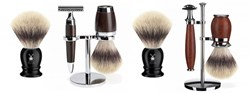 Muhle vegan shaving brushes