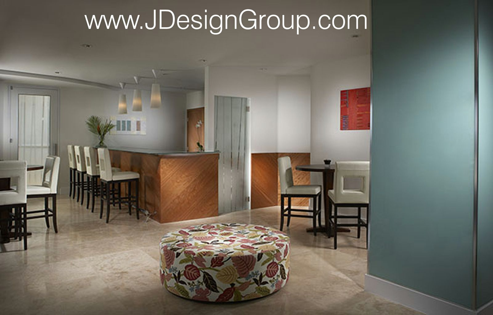 Florida design magazine features j design group s update for Miami interior design magazine
