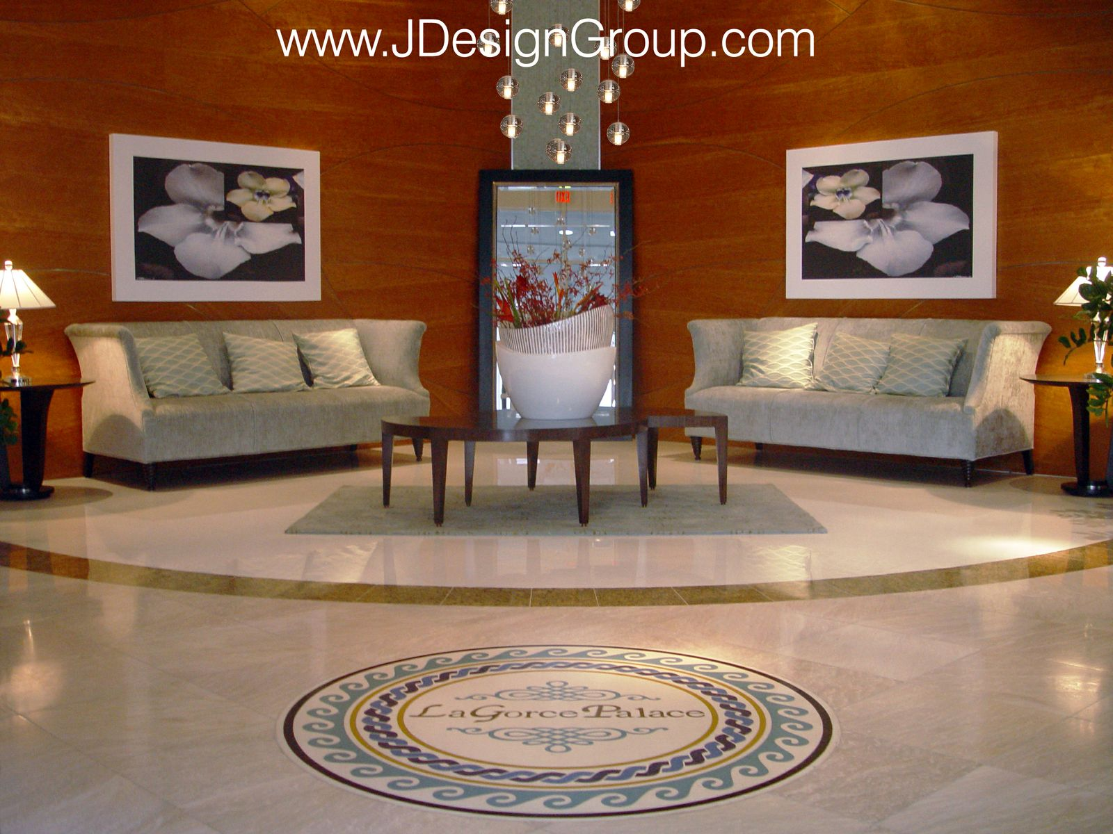 La Gorce Palace Entrance J Design Group