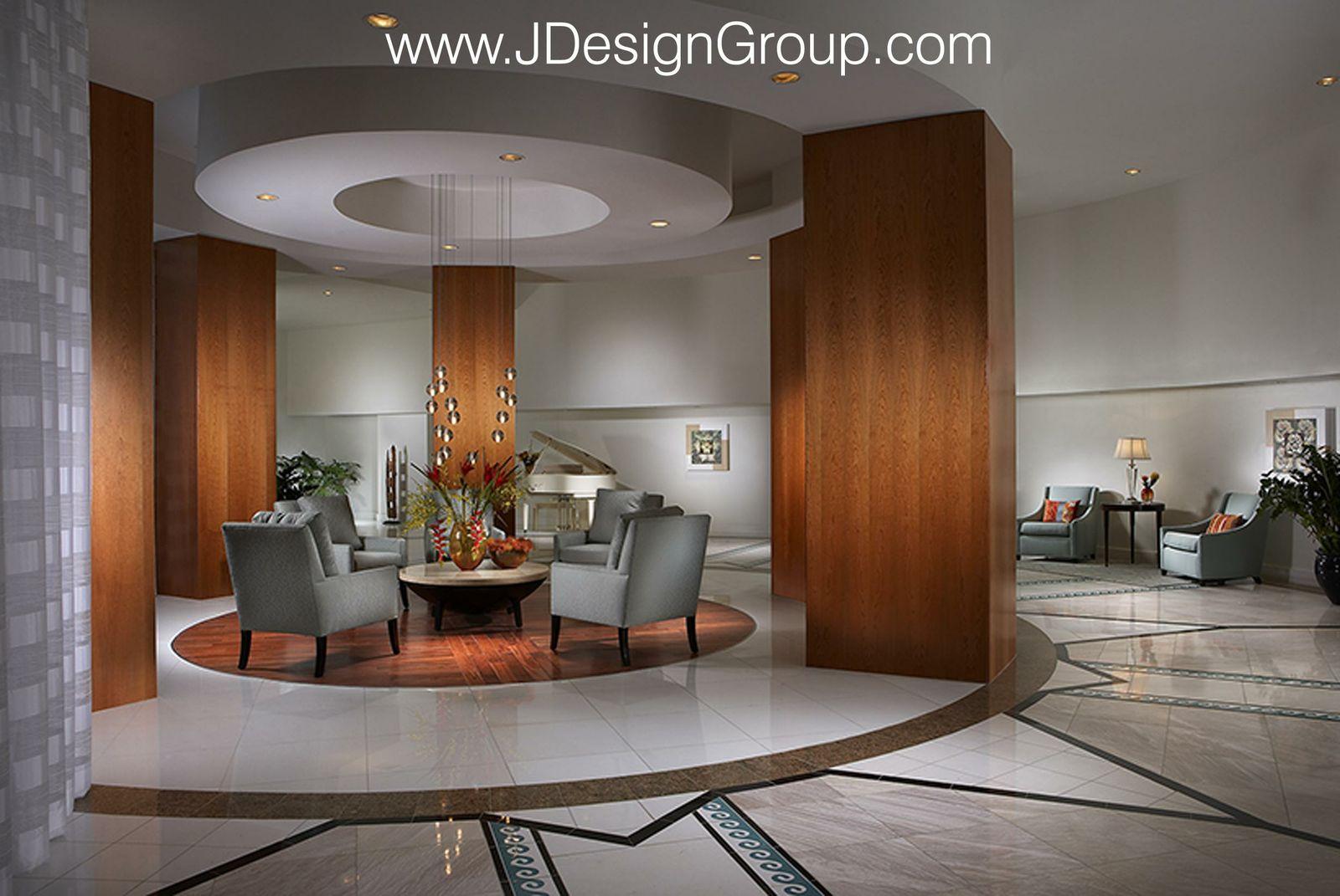 La Gorce Palace Lobby Modern Interior Design