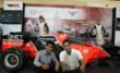 Members of the public got the rare opportunity to get up close and personal with the QNET F1 Show Car