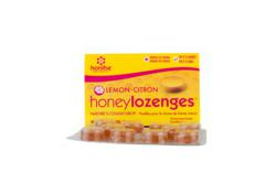 Honibe Honey Lozenges with Lemon, Menthol and Eucalyptus