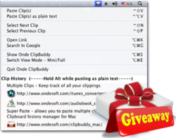 Clipbuddy Giveaway
