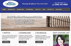 Cape Cod Hearing Aids Website