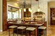 Highland Lakes Custom Home Kitchen
