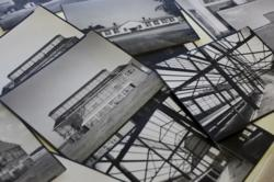 Photos from the large collection of renderings and photographs recently donated by TVA to the UNA library archives.