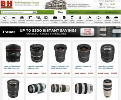 Photography Update: Up to $300 Instant Savings on Canon Lenses and Speedlites