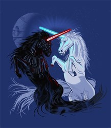 Starwars with Unicorns