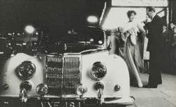Armstrong Siddeley Saphire Car by Norman Parkinson