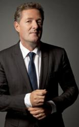 "Awarded ""Best Dressed Political News Anchor"": CNN's Piers Morgan"