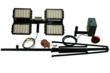 Easy Storage and Transportation Portable LED Work Area Light Tower