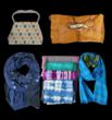 Jenne Rayburn Showcases Couture Handbags and Designer Silk Scarves at...
