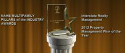 Interstate Realty Management, NAHB, Pillars Awards, Property Management
