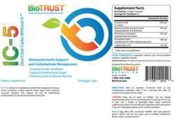 Biotrust IC-5 review label
