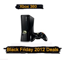 Xbox 360 Black Friday 2012 Deals