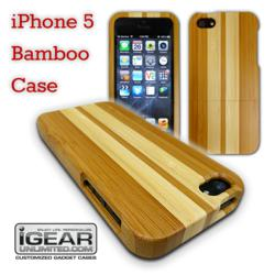 iPhone 5 Bamboo Case