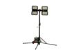 Aluminum 600 Watt LED Work Area Lighting Quadpod Tower