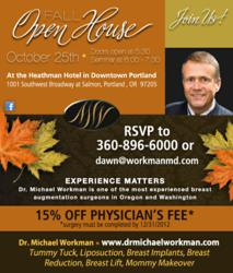 Dr. Michael Workman, Portland, OR, Plastic Surgery