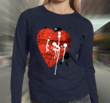 """Graffiti Love One"" Women's Crewneck Sweatshirt by bang! bang flip t-shirts"
