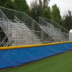 Lynn Universtity Aluminum Bleachers