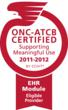 Iatric Systems PtAccess Patient Portal is ONC-ATCB certified for Meaningful Use Stage 1for Eligible Providers by CCHIT