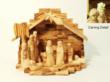 Bethlehem Olive Wood hand carved nativity set