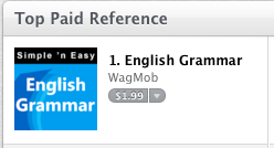 #1 paid reference app on Apple is from WAGmob