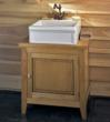 Vigneron Solid Ash Wood Bathroom Vanity Cabinet From Herbeau