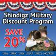 Shindigz Supports the Troops with Special Discount
