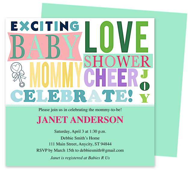 Celebrations of Life Store Offers New Templates for Baby Shower ...