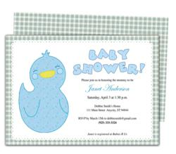 offers new templates for baby shower invitations and announcements