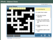 Learning app using crossword puzzle format to understand abstract nouns.