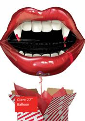 Halloween Vampire Teeth Balloon