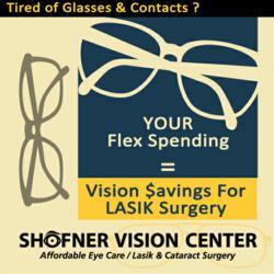 Use Flex Spending for Lasik Eye Surgery by Shofner Vision Center