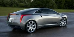Cadillac Converj concept, soon to be ELR.