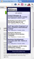 Jobberman Chrome Extension