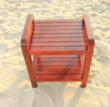 teak shower chair with mobility assistance