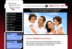Hearing Aids Leader - Hearing Healthcare Virginia Website