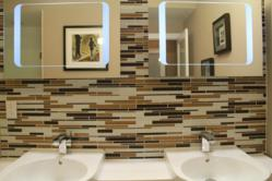 Iced Mocha Glass Mosaic Til by Martini Mosaic