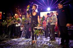 Selah Sue winner of the Public Choice Award 2012