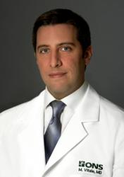 Hand and wrist surgeon Dr. Mark Vitale of Orthopaedic and Neurosurgery Specialists in Greenwich, CT