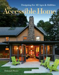 Book jacket for The Accessible Home by Deborah Pierce