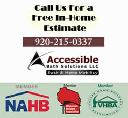 Accessible Bathroom Remodeling in Appleton WI